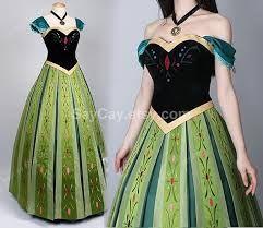 Resultado de imagen para vestido anna princesa disney