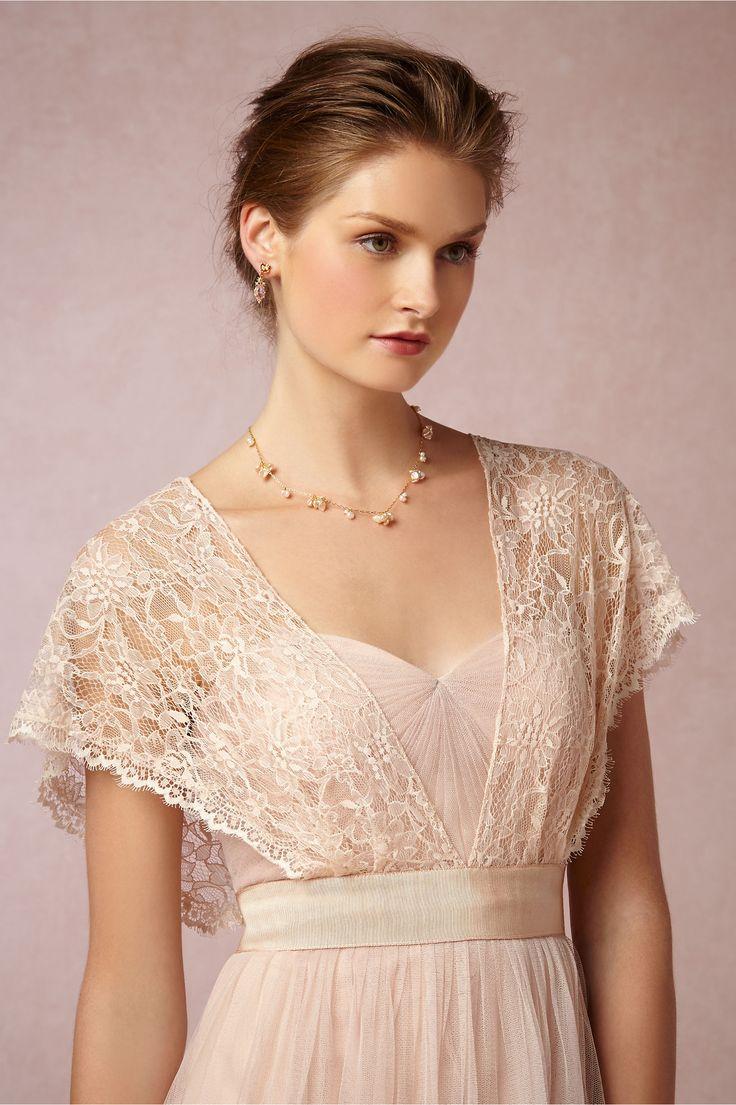 Floral Lace Dress Topper