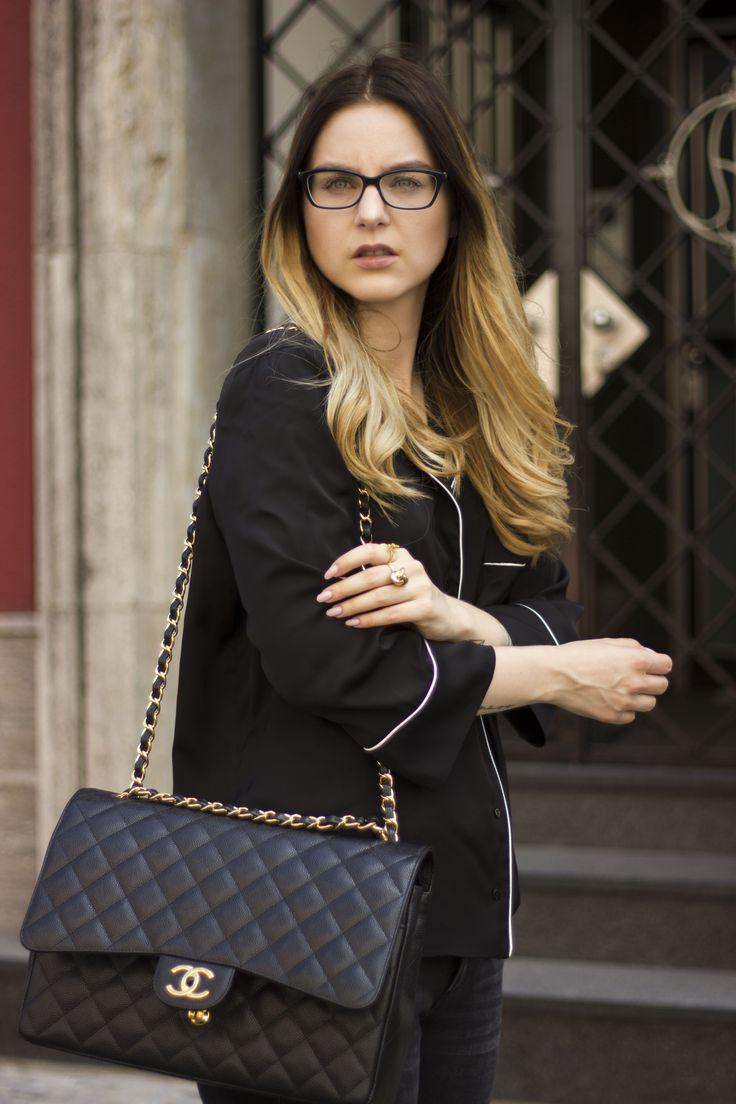 Chanel timeless flap bag