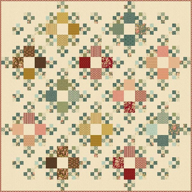Country Living a nice new free pattern for you from the 'Crystal Farm' collection.