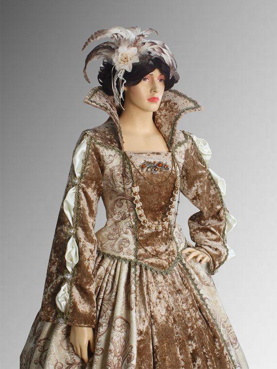 Tudor vestido del Renacimiento dos piezas de por YourDressmaker