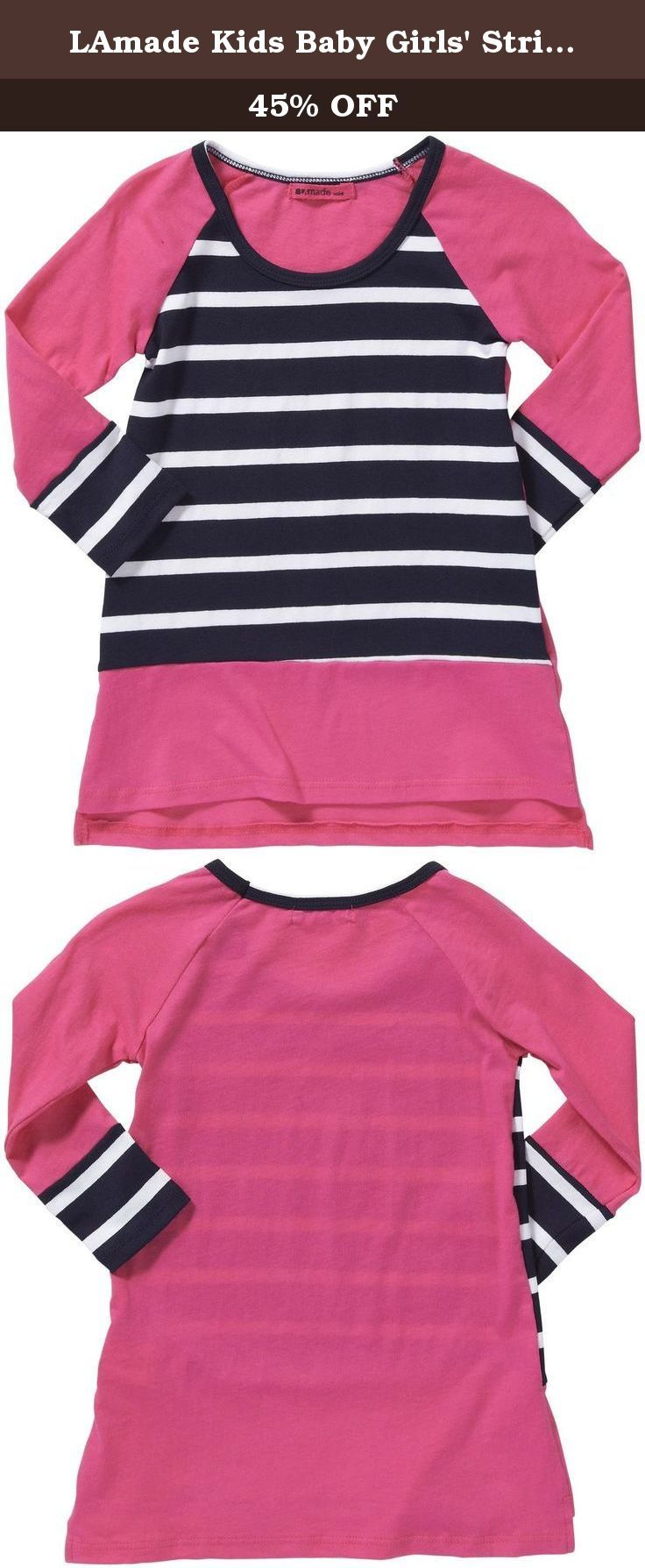 LAmade Kids Baby Girls' Striped Dress (Toddler/Kid) - Capri - 6-12 Months. LAmade Kids Striped Dress (Toddler/Kid) - Capri Fall in love with the LAmade Mini Crew Neck Pocket Dress. The comfortable fit and on-trend colorblock pattern makes the dress a great choice for everyday style! Features: Color blocked pockets.