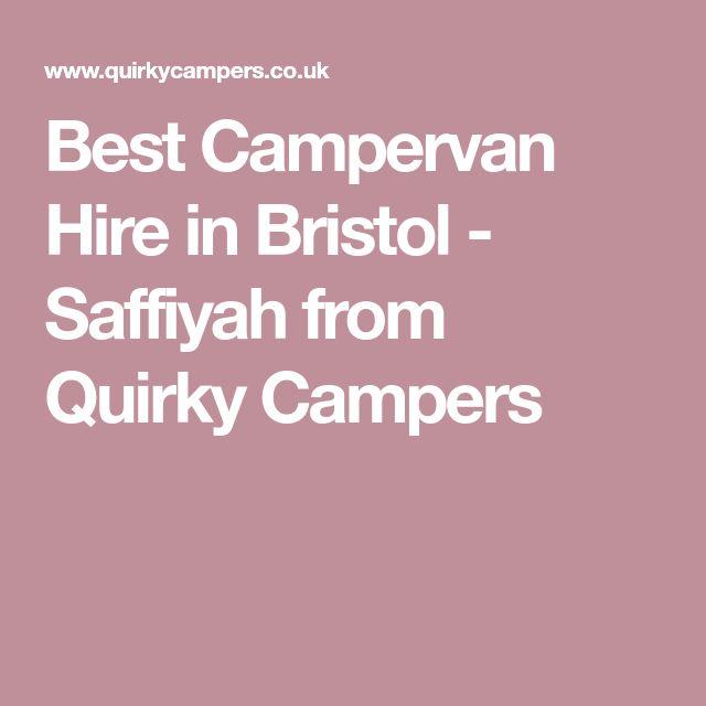 Best Campervan Hire In Bristol