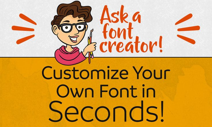 I know that not everyone has the time or the inclination to create their own fonts.