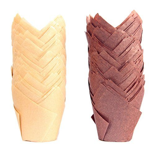 Best Price Paper Tulip Baking Cups Cupcake Muffin Liner For