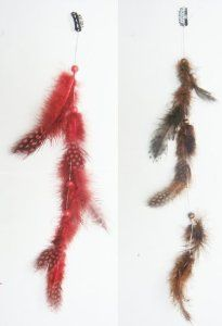 2 X Real Natural Feather Hair Extensions Grizzly Hair Extension Clip in on Beauty Salon Supply Wholesale Lot New by opt. $5.99. Length: about 14 (35cm). 2 X Real Natural Dyed Grizzly Feather Hair Extensions Clip In On Beauty Salon Supply Wholesale Lot New. User Friendly: Make your own hair style.. Material: Real Natural Feather. Package Includes: 2 pieces dyed Natural Feathers hair extensions.. Real Natural Feather Hair Extensions Clip In On . Make your own hair sty...