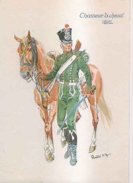 MINIATURAS MILITARES POR ALFONS CÀNOVAS: NAPOLEONIC UNIFORMS ( Nº 13 ) por Herbert Knötel