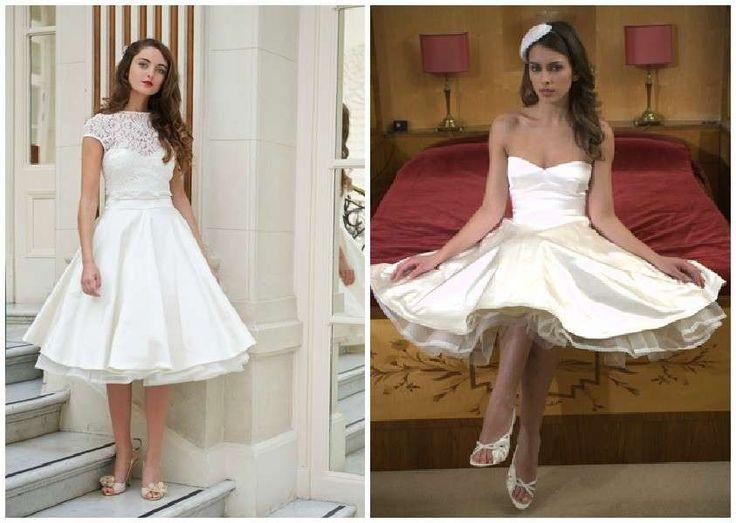 Abiti da sposa anni 50 - Vestito nuziale anni 50 per ragazze alla moda