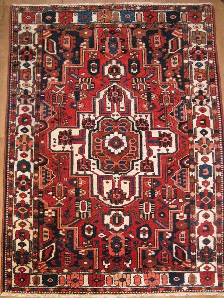 Антикварный персидский ковер «Бахтияр»