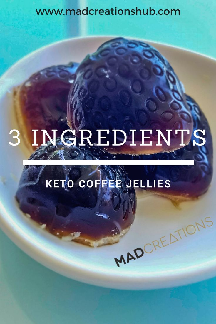 Mad Creations 3 Ingredient Keto Coffee Jellies