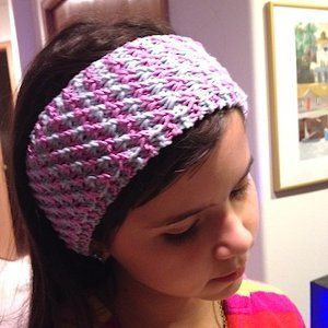 Star Stitch Headband | AllFreeKnitting.com