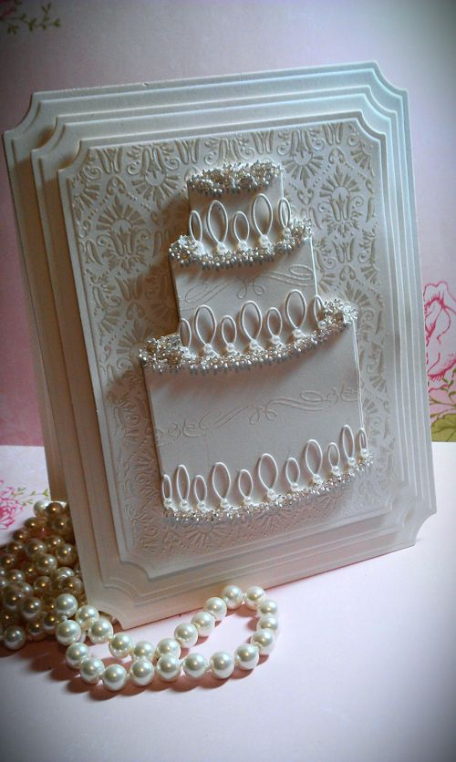 Memory Box Magnificent Cake die (98490) from the Oyster Stamps Gallery Of Card Ideas