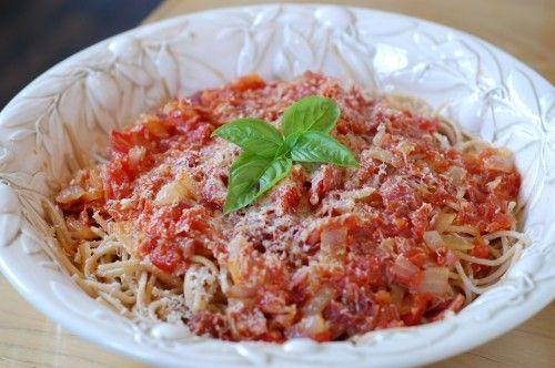 Recipe: Simple Spaghetti