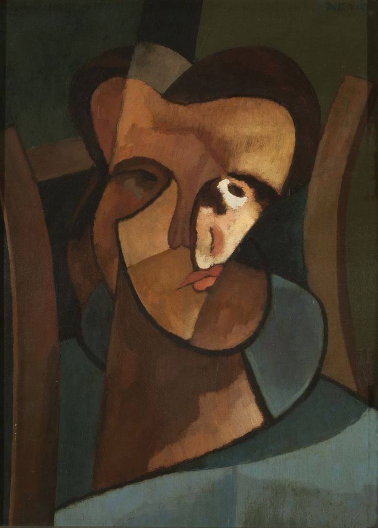 Self-portrait (1918) by Emilio Pettoruti