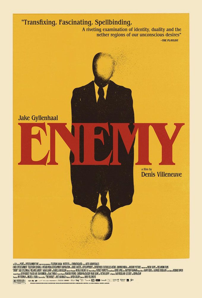 First Poster For Denis Villeneuve's Creepy Psychothriller 'Enemy' Starring Jake Gyllenhaal Turns You Upside Down | The Playlist