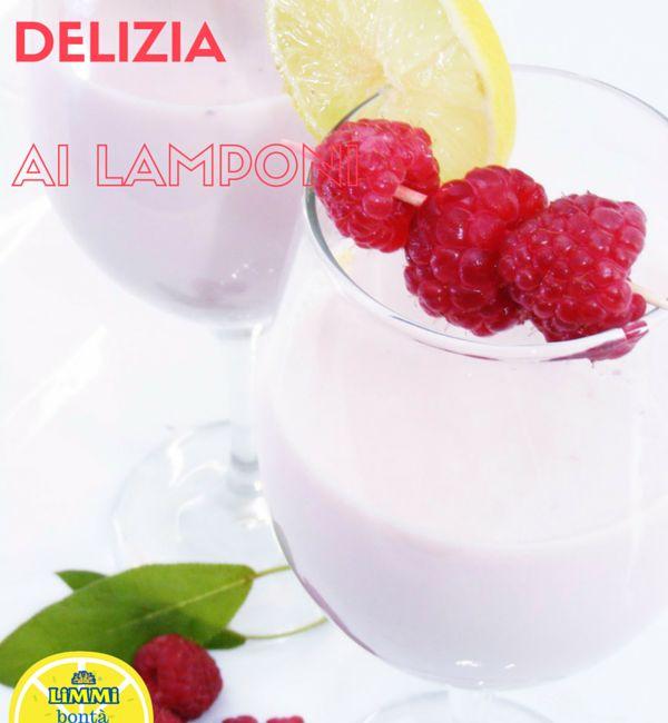 Delizie al lampone con succo di limone