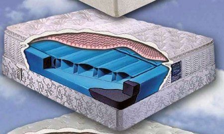 """MA00798QN Pure Form 6500 Series 21"""" High Queen Size 2-Chamber Pillow Top Air by Boyd's. $1235.00. AIR BEDS are one of the newest fastest-growing segments in the mattress industry An AIR BED uses individual air chambers that allow you to control and adjust the support in the mattress Similar in look to an innerspring mattress an air bed has remove..."""