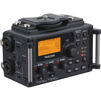 Tascam DR-60D 4-Channel Linear PCM Recorder $149 + Free Shipping