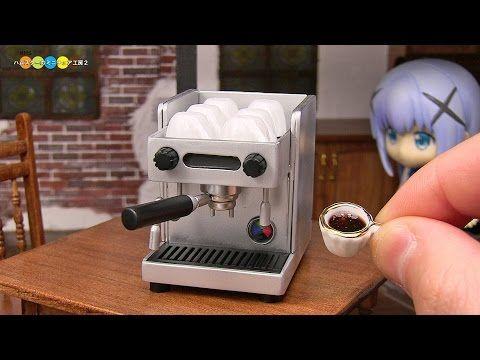 DIY Miniature Espresso Machine ミニチュアエスプレッソマシン作り - YouTube