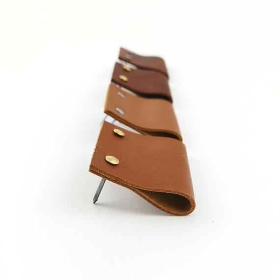 Leather Drawer Pulls Leather Pulls Dresser Handles Leather Edge Pulls Leather Drawer Pulls Dresser Handles