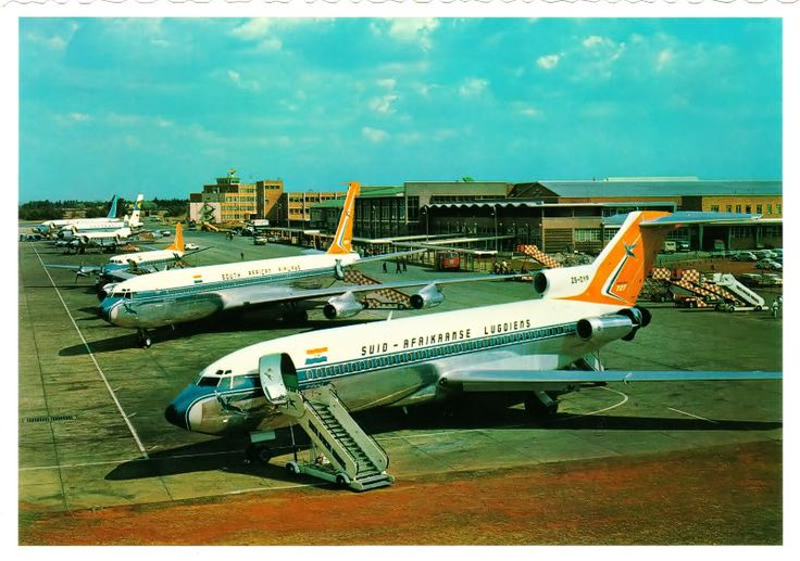 Johannesburg's Jan Smuts International Airport | ✈ Follow civil aviation on AerialTimes. Visit our boards on pinterest.com/aerialtimes or like us on www.facebook.com/aerialtimes