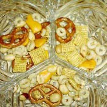 Nuts and Bolts Party MixMunchies Snacks, Mixed Recipe, Mixed Food And Drinks, Holiday Recipe, Mixed Allrecipes Com, Parties Ideas, Bolt Parties, Snacks Recipe, Parties Mixed
