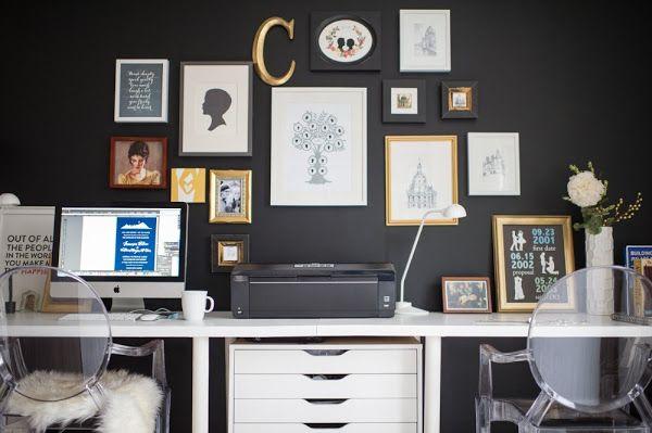 UN ESTUDIO EN BLANCO Y NEGRO Y VARIAS IDEAS PARA COPIAR SU LOOK | Decorar tu casa es facilisimo.com