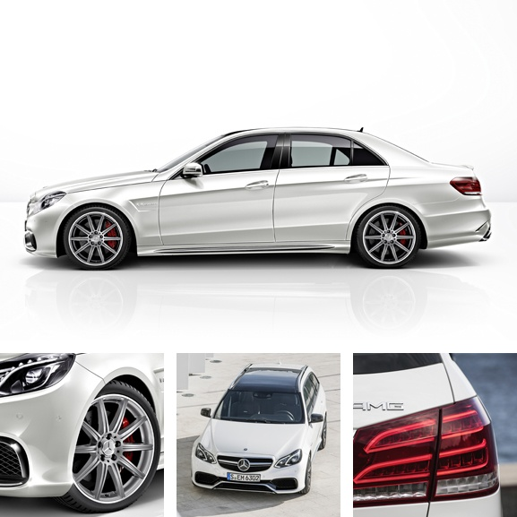 New Mercedes E63 AMG S .... Already in my garage ....