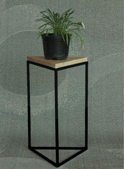 Mesa esquinera triangular re mobiliario pinterest for Mesa esquinera para cocina