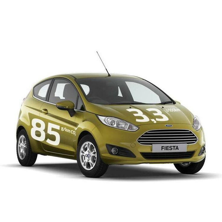 Easy to see why the lean, green Ford Fiesta is attractive to businesses!