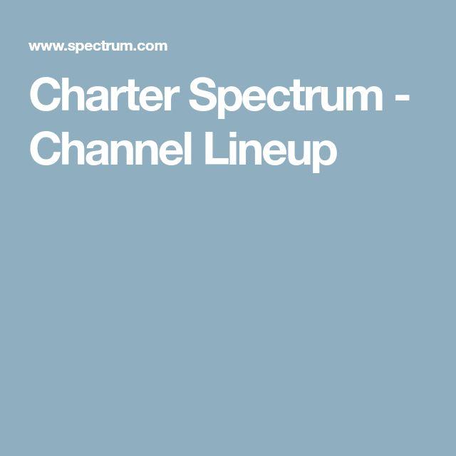 Charter Spectrum - Channel Lineup