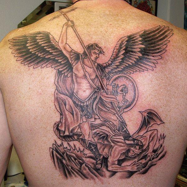 steves st michael 27 Perfect St Michael Tattoo Designs