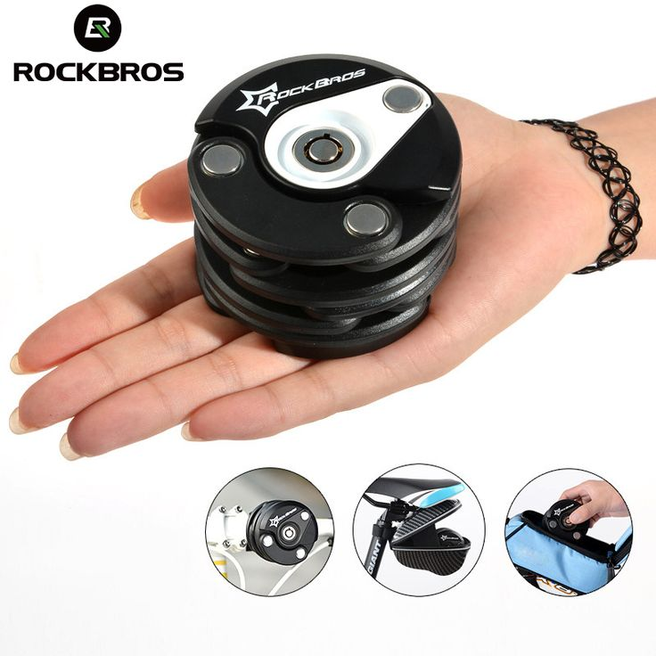 ROCKBROS German Reddot Design Award Bike Motorcycle Electric Bicycle High Security & Drill Resistant Lock Cylinder Lock, 4Color-in Bicycle Lock from Sports & Entertainment on Aliexpress.com | Alibaba Group