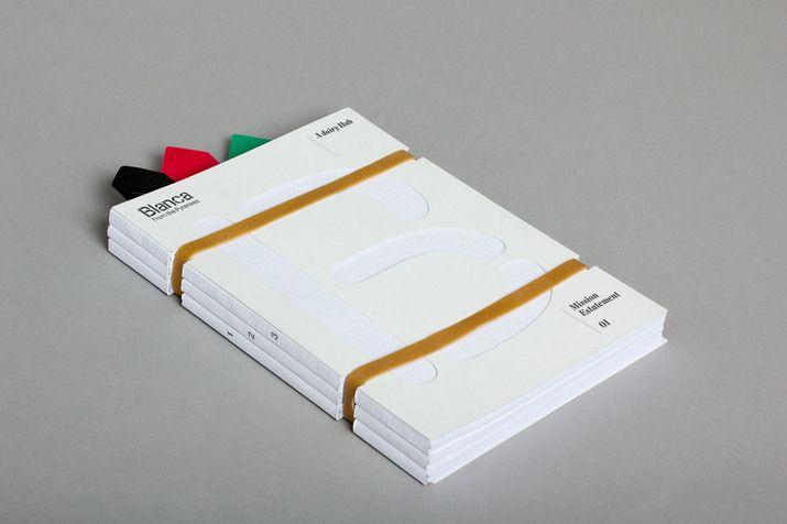 Blanca (Identity, Print) by Lo Siento Studio, Barcelona