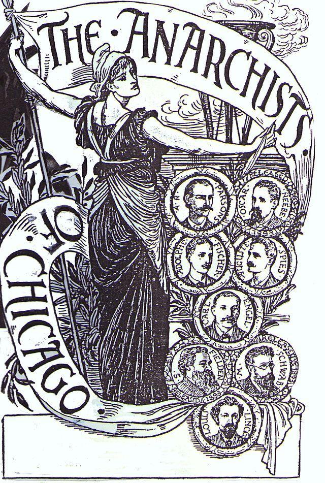 Chicago Anarchists - Haymarket affair 1886