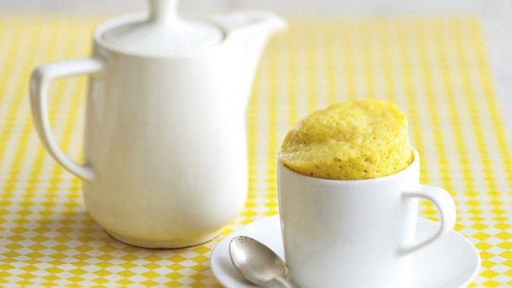 Mug Cake Citron au Sucre Pétillant. ФРАНЦИЯ от arts-et-gastronomie