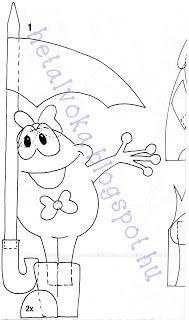 Hétalvóka: Ovis mazsola: Őszi ablakdekorációk (1)