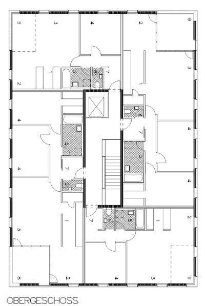 Die besten 25 grundriss mehrfamilienhaus ideen auf - Architektur plan ...