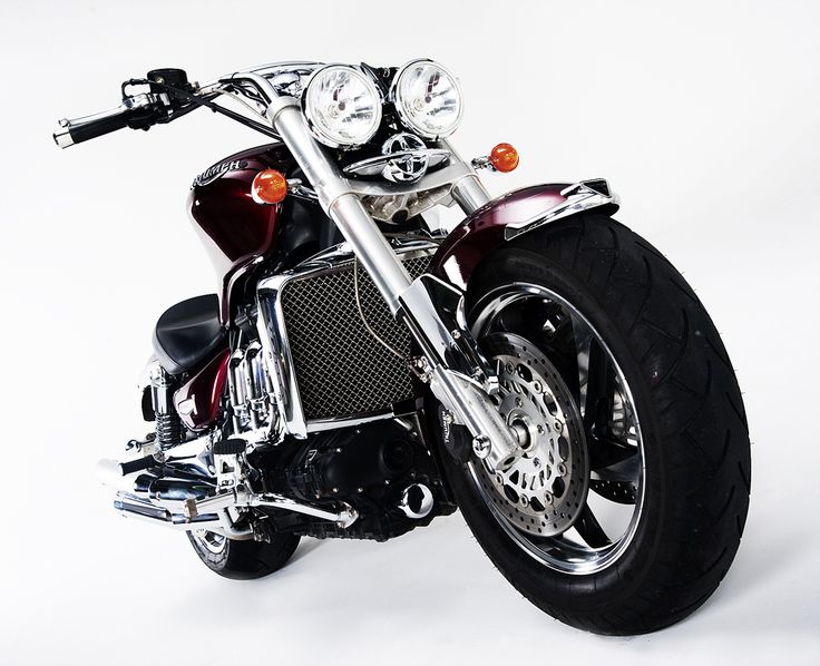 Triumph Rocket photographed in the studio