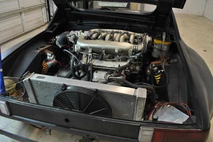 Porsche 914 Race Car Flared Ford SHO Motor – Groosh's Garage