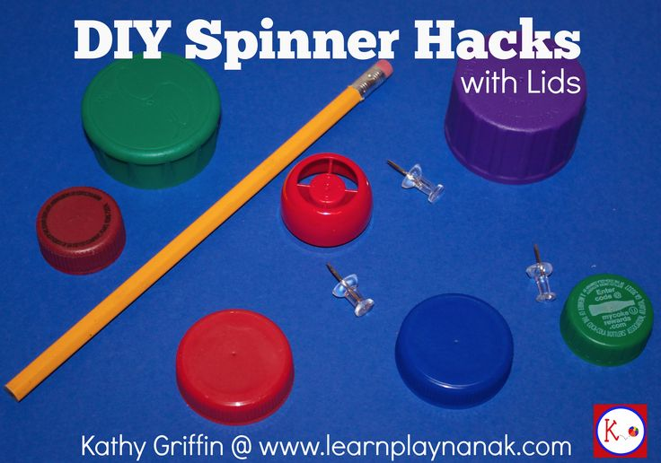 DIY SPINNER HACK! NEVER USE A PENCIL AND PAPERCLIP AGAIN! GREAT FOR THE CLASSROOM.