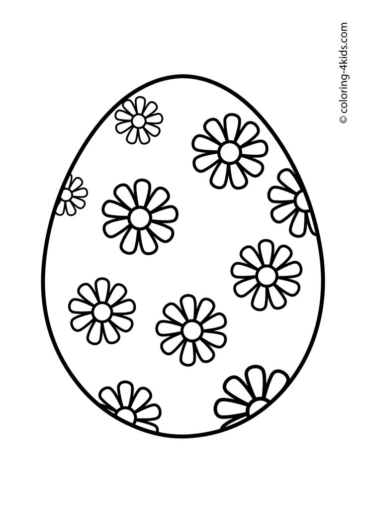 25 Best Ideas about Easter Egg Coloring Pages on Pinterest