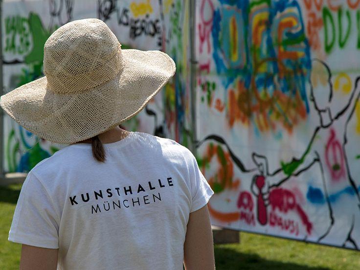 In der Kunsthalle in München sind diverse Ausstellungen zusehen und andere interessante Begleitprogramme.