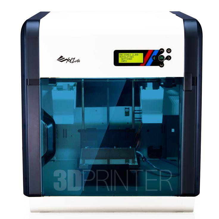 da Vinci 2.0 FDM 3D printer (2 extruders)