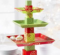Stackable Holiday Trays