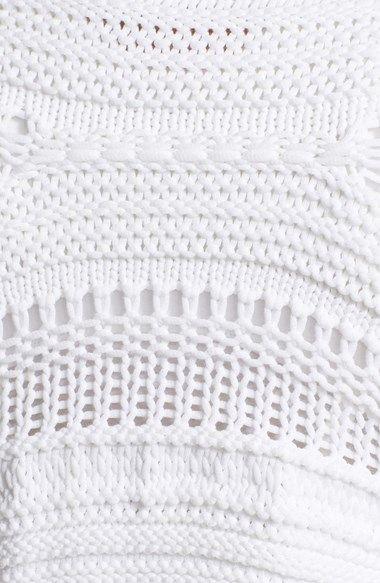 Helmut Lang Loose Knit Crop Sweater | Nordstrom