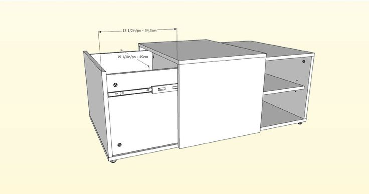 Nexera 600736 Next Coffee Table With Enclosed Storage Black And Walnut Nexera