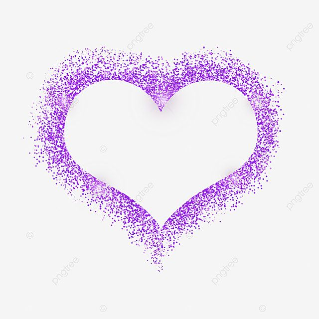 Purple Heart Shaped Grainy Glitter Border Valentine Purple Heart Shaped Png Transparent Clipart Image And Psd File For Free Download Heart Shapes Heart Shaped Valentines Flower Border