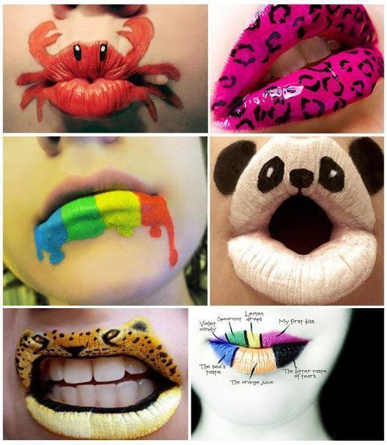 Lippen sind anscheinend nicht nur zum Küssen da! – #anscheinend #da #kussen #li…