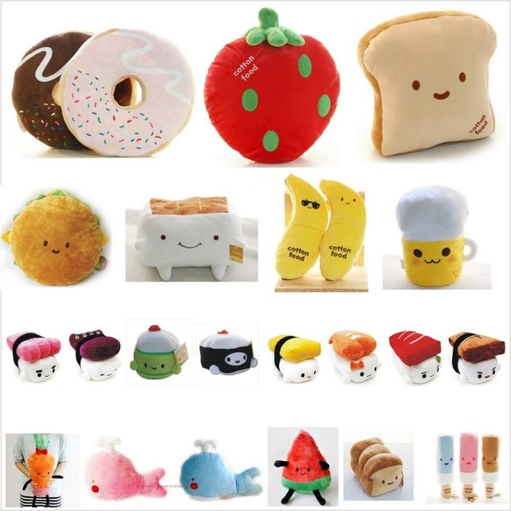 Cute Food Pillow : 64 best images about Food Pillows?? on Pinterest Play food, Giant plush and Kawaii